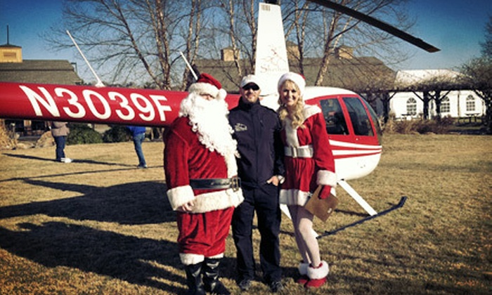 Silverhawk Aviation - Boise: $89 for a Christmas-Lights Helicopter Tour for Up to Three from Silverhawk Aviation (Up to $150 Value)