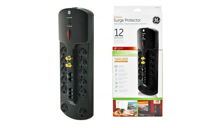 GE 12-Outlet Premium Surge Protector