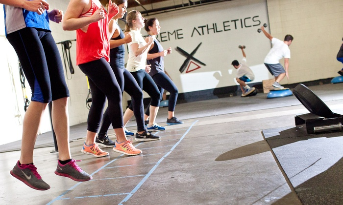 Extreme Athletics - Costa Mesa: $37.50 for 5 Group Surf-Fitness Classes at Extreme Athletics ($100 Value)