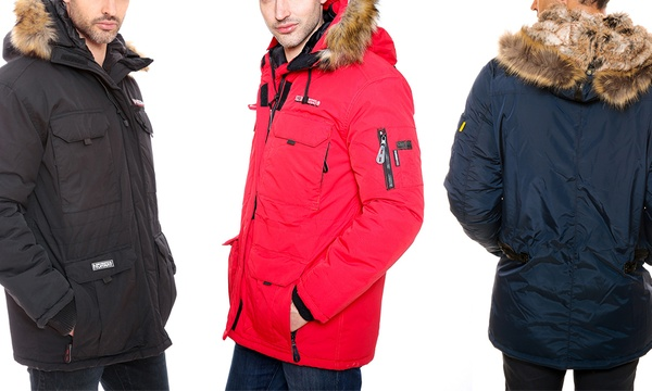 geographical norway parka homme cdiscount