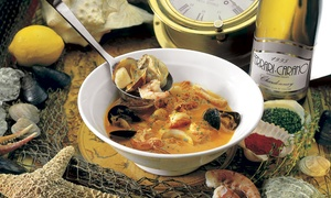 Pearl Oyster Bar & Grill: $12 for $20 Worth of Seafood and Drinks at Pearl Oyster Bar & Grill