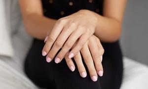 Sapphire Nail Salon: No-Chip Manicure or Mani-Pedi, or Traditional Mani-Pedi at Sapphire Nail Salon