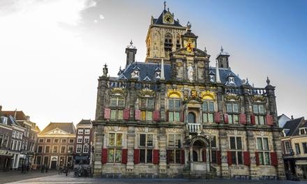 Hartje Delft: 1 tot 3 nachten voor twee bij Hotel Grand Canal inclusief ontbijt