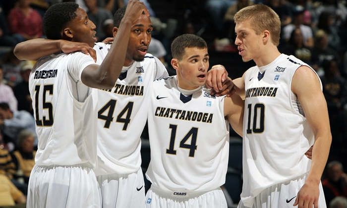 Chattanooga Mocs - North Chattanooga - Hill City - UTC: Chattanooga Mocs Men's Basketball Game for Two or Four at McKenzie Arena on January 11 or February 1 (Half Off)