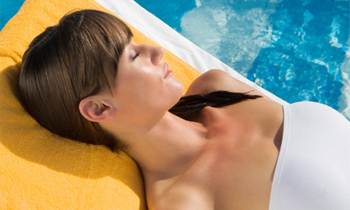 The Riviera Tanning Spa - Multiple Locations: $39 for Two Months of Unlimited Tanning, Red-Light Therapy, and $5 Spray Tans at The Riviera Tanning Spa ($225 Value)