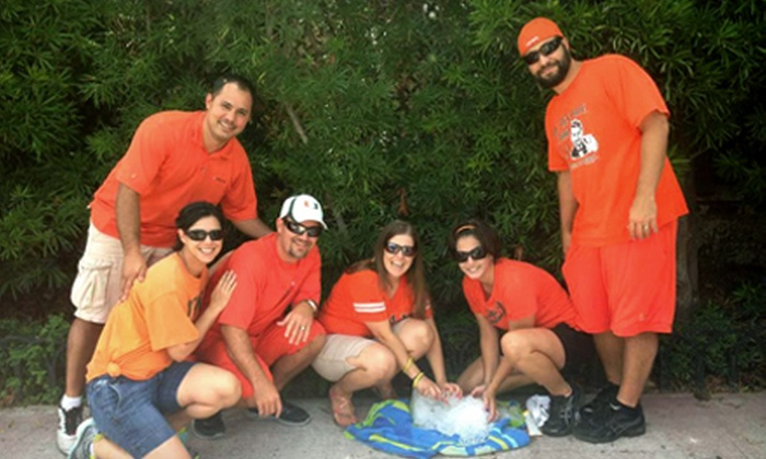 Urban Goose Chase - Baltimore: $46 for Registration for a Team of Up to Six for the Urban Goose Chase Scavenger Hunt on Sunday, August 18 ($99 Value)