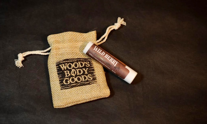 Wood's Body Goods - Aberdeen: C$175 for Personalized Lip Balm and Lip Shimmer Wedding Favors at Wood's Body Goods (C$350 value)