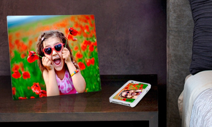 "Aluminyze: 8""x10"", 11""x14"", 16""x20"", or 20""x30"" Aluminum Photo Print or Aluminum Smartphone Case from Aluminyze (Up to 68% Off)"