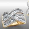 1 Ct. Diamond Crisscross Earrings or Rings