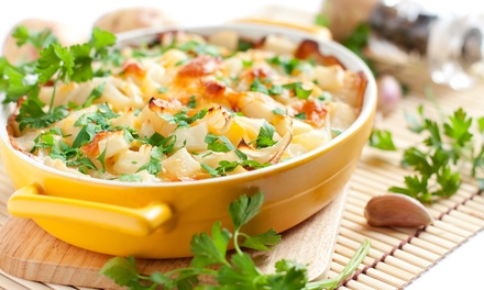 One Small or Large Homemade Healthy Casserole at Heat-n-Eat Healthy (Up to 40% Off)