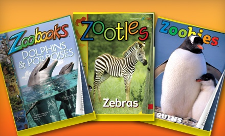 "One- or Two-Year Subscription to ""Zoobooks,"" ""Zoobies,"" or ""Zootles"" Magazine"