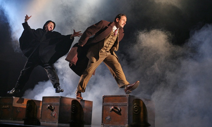 """39 Steps"" - Union Square: ""39 Steps"" at Union Square Theatre on May 7–June 10 (Up to 44% Off)"