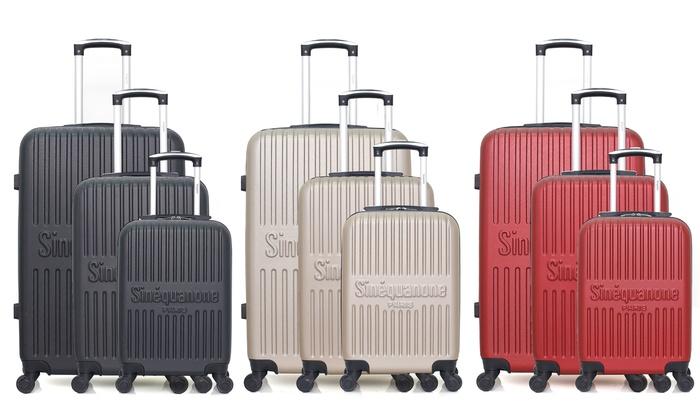 Three-Piece EOS-A Luggage Set