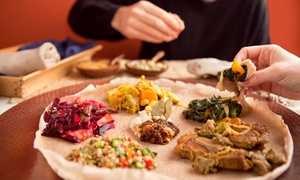 Blue Nile Ethiopian Cuisine: $11 for $20 Worth of Ethiopian Food and Nonalcoholic Drinks at Blue Nile Ethiopian Cuisine