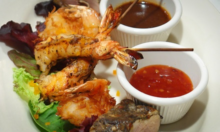 Jamaican Food at Hibiscus Restaurant (Half Off). Two Options Available.