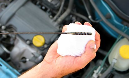 image for One Conventional or Synthetic Blend Oil Change at Hilltop Nissan (Up to 43% Off)