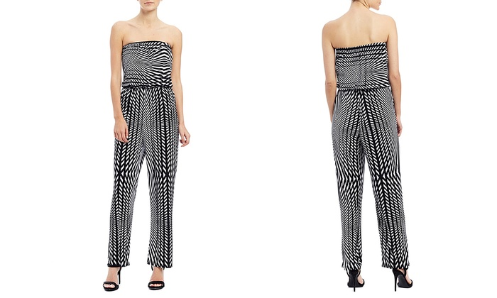 7eb7f272d97 Mlle Gabrielle Tube Printed Jumpsuit