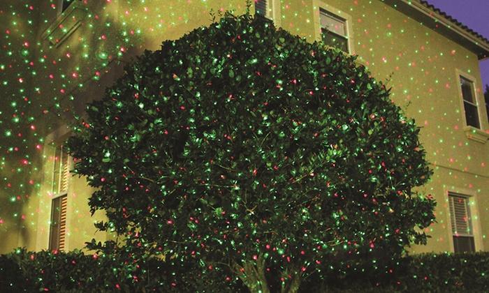 projecteur led laser star shower groupon shopping. Black Bedroom Furniture Sets. Home Design Ideas