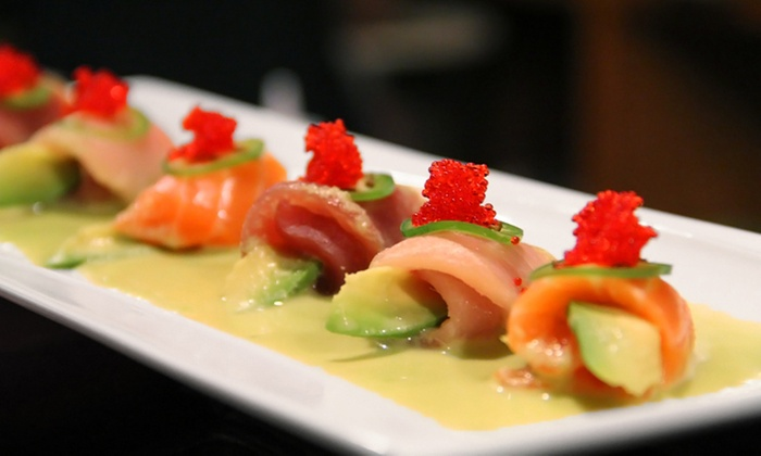 Min Ghung - Glastonbury Center: Sushi and Japanese Food for Dinner at Min Ghung (Up to 50% Off). Two Options Available.