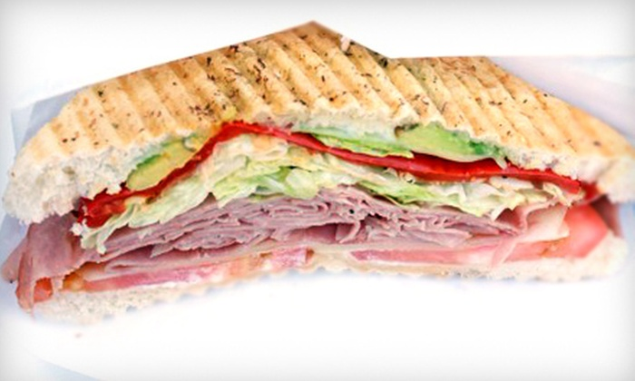 Bosnia Express - Northwest: House-Special Paninis and Sodas for Two or Four at Bosnia Express (Half Off)