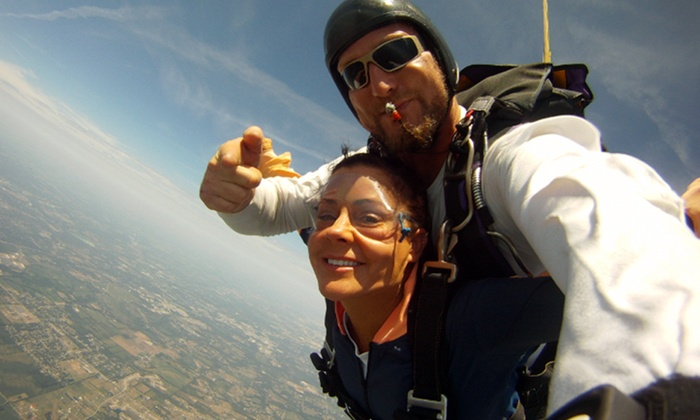 Skydive Warren County - Wayne: $119.99 for Tandem Skydiving Experience on a Weekday from Skydive Warren County ($239 Value)