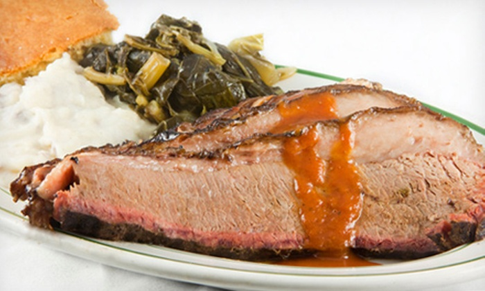 Blue Ribbon BBQ - Multiple Locations: $7 for $15 Worth of Southern-Style Barbecue at Blue Ribbon BBQ