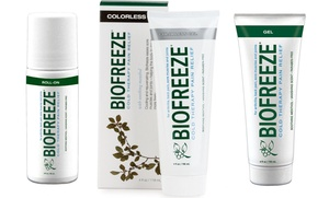 Biofreeze Pain-Relief Gel (3-Pack) at Biofreeze Pain-Relief Gel (3-Pack), plus 9.0% Cash Back from Ebates.