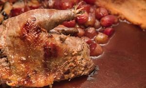 El Gamo: menú de caza para 2, 4 o 6 con entrante, principal, postre y bebida desde 36,95 € en El Pardo
