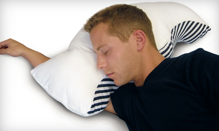 Sona Stop Snoring Pillow with Case: $29 for a Sona Stop Snoring Pillow with a Cotton Pillowcase ($59.99 Value)