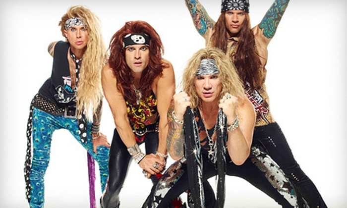 Shock Top Presents Earth's Last Stand featuring Steel Panther - House of Blues Chicago: Shock Top Presents Earth's Last Stand Featuring Steel Panther on Friday, December 21, at 9 p.m. (Up to 40% Off)