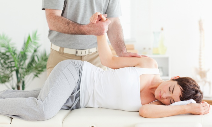 Spine Center - Herndon: Exam and Three Spinal-Decompression Sessions or Chiropractic Adjustments at Spine Center (Up to 94%)