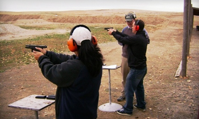 A&M Shooting Academy - Multiple Locations: Concealed-Carry-Permit Course with Optional Introductory Handgun Class from A&M Shooting Academy (Half Off)