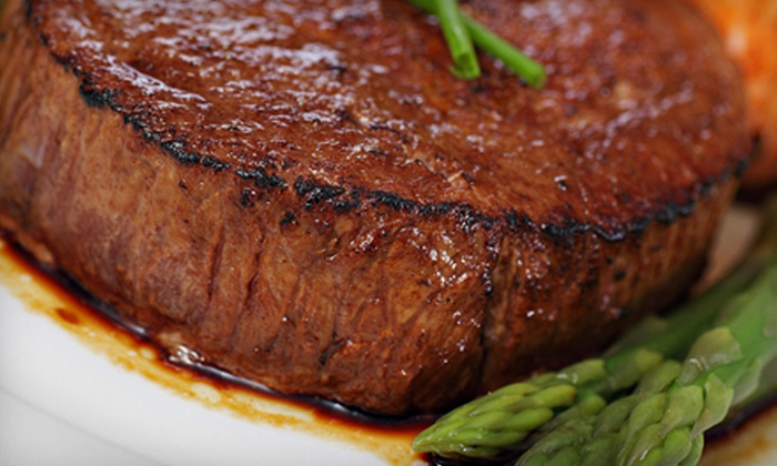 Lee Gribben's on Main - Emmaus: Steak-House Dinner with Appetizers and Dessert for Two or Four at Lee Gribben's on Main (Up to 60% Off)