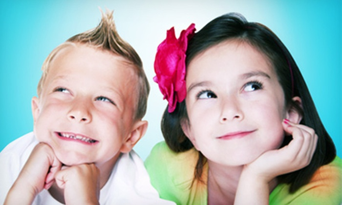 Shear Madness Haircuts for Kids - Shear Madness: $12 for a Kid's Haircut and $10 Worth of Haircare Products or Toys at Shear Madness Haircuts for Kids ($24.95 Value)