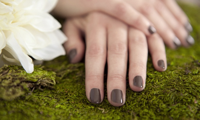 AnTina's Salon & Boutique - Carnegie: One or Two Shellac Manicures at AnTina's Salon & Boutique (Up to 57% Off)