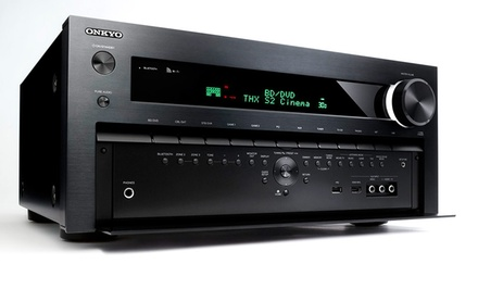Onkyo 7.2-Channel 3D Home-Theater Receiver with Bluetooth and WiFi