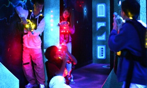Paradise Park Family Entertainment Complex: Laser Tag or Miniature Golf with Drinks for Two or Four at Paradise Park Family Entertainment Complex
