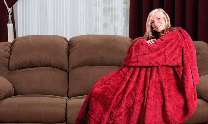 2-Pack of The Ultimate Blanket with Sleeves: The Ultimate Blanket with Sleeves 2-Pack. Multiple Colors Available. Free Shipping and Returns.