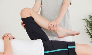 Central Dupage Physical Medicine: Three-Visit Chiropractic Package or One or Three Massages at Central Dupage Physical Medicine (Up to 85% Off)