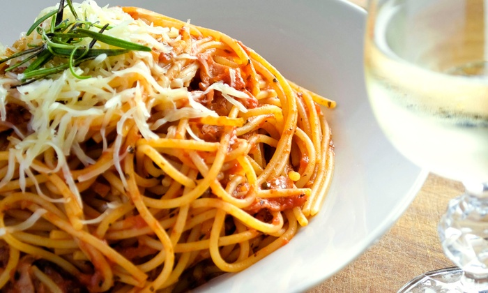 Mesquite St. Pizza and Pasta Company - Central City: $10 for $20 Worth of Italian Pasta During Lunch or Dinner at Mesquite St. Pizza and Pasta Company