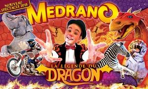 Cirque Medrano: 1 place en tribune d'honneur pour l'une des représentations du cirque Medrano à Béziers et à Carcassonne à 10 €