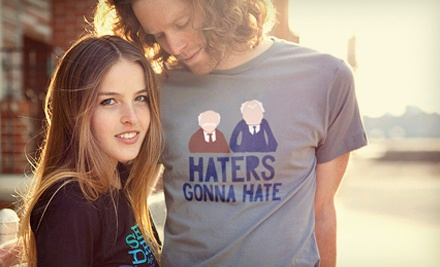 Humorous T-Shirts from BustedTees.com (Up to 52% Off). Two Options Available.