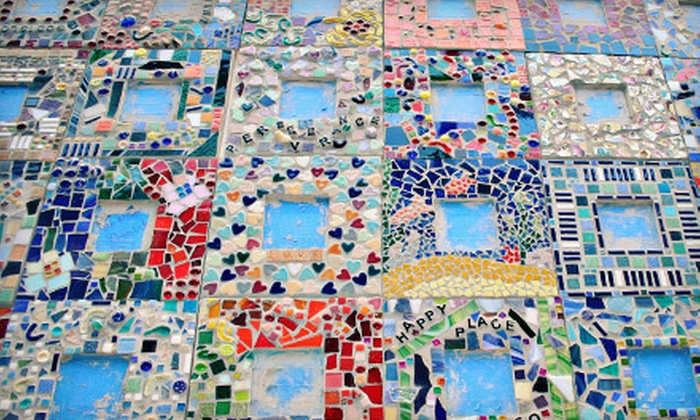 VisArts at Rockville - Central Rockville: Mosaic Mirror Class for One or Two at VisArts at Rockville (Up to 57% Off)