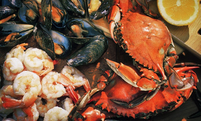 Porto Novo - Caledonia - Fairbanks: Portuguese Seafood Platter for Two or Four at Porto Novo (Up to 53% Off)