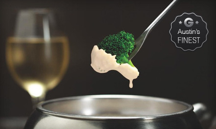 The Melting Pot - Northwest Austin: Cheese Fondue, Salads, and Fondue Entree for Two or Four at The Melting Pot (Half Off)