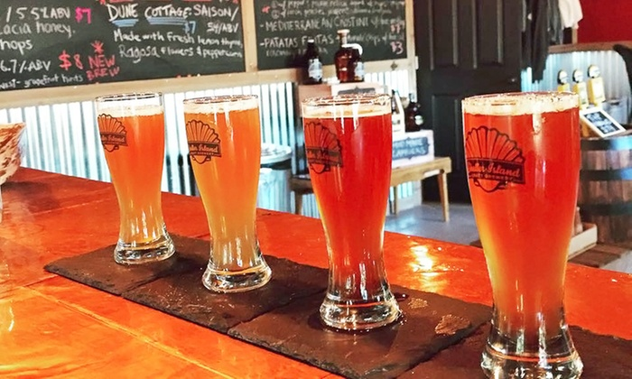 Shelter Island Craft Brewery - Shelter Island Craft Brewery: Beer Tasting Packages for Two or Four at Shelter IslandBrewery (Up to 47% Off)
