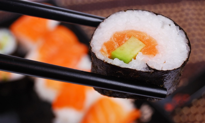 Sakura Sushi - Sakura Sushi: 12-Piece Sushi Platter From R56 at Sakura Sushi (Up to 52%Off)