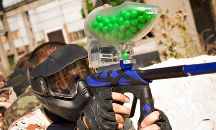 Paintball Package for One, Two, or Five with Gear Rental at Giant Paintball (Up to 58% Off)