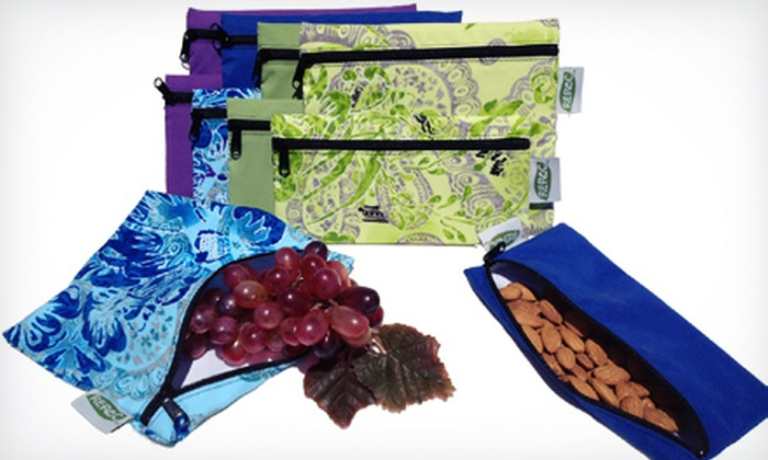 Re-Pac Bags: Eco-Friendly, Reusable Food Bags from Re-Pac Bags (Up to 50% Off). Two Options Available.