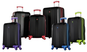 Olympia USA Apache Expandable Hardside Luggage Set (3-Piece)